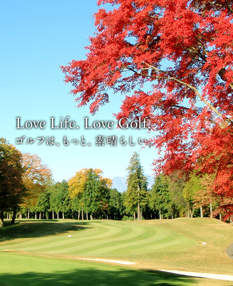 Love life. Love golf.